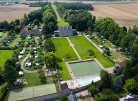 Kasteelcamping Chateau de Martragny